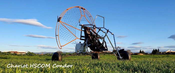 HSCOM Condor : chariot paramoteur monoplace